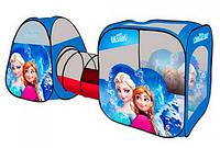 Палатка детская с тоннелем Frozen М 3312 КК HN