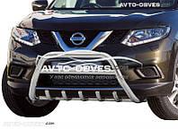 Защита переднего бампера для Nissan X-Trail T32