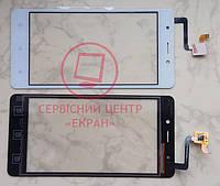 Сенсорний екран для смартфону Blackview A8, тачскрін білий