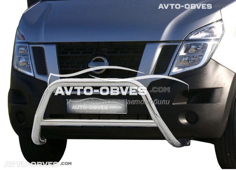 Защитная дуга передняя для Nissan NV400 2010-... п.к. RR006