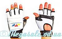 Перчатки для тхэквондо с фиксатором запястья (защита кисти) WTF 4464: S-XL