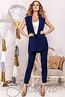 Стильный женский темно-синий  костюм Ролинс  Jadone  42-50  размеры