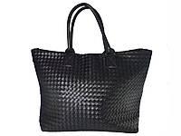 Женская сумка-тоут (черная) №3119