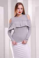 Красивая женская кофта с открытыми плечами, фото 1