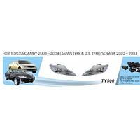Фары доп.модель Toyota Camry 30 2003-2004/TY-500W/JAPAN/эл.проводка