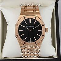 Эксклюзивные мужские наручные часы Audemars Piguet ROYAL OAK Gold/Black