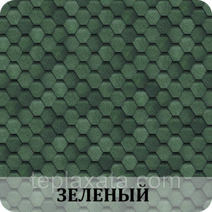 ОПТ - Черепица SHINGLAS Финская Соната Зеленый