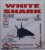 Крючок рыболовный / SODE / R / №2 / White Shark