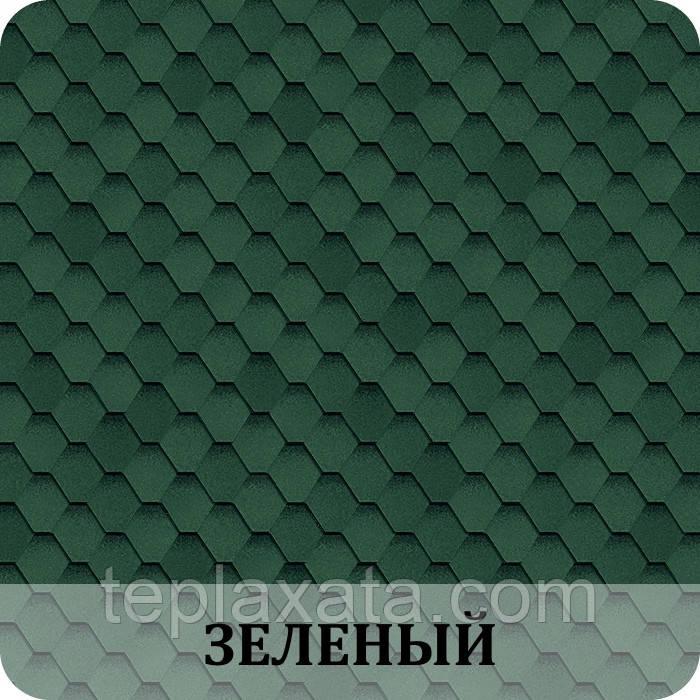 Черепица SHINGLAS Классик Кадриль Зеленый