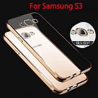 TPU чехол для Samsung Galaxy S3 I9300 (3 цвета)