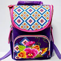 Рюкзак детский ортопедический Smile Цветы