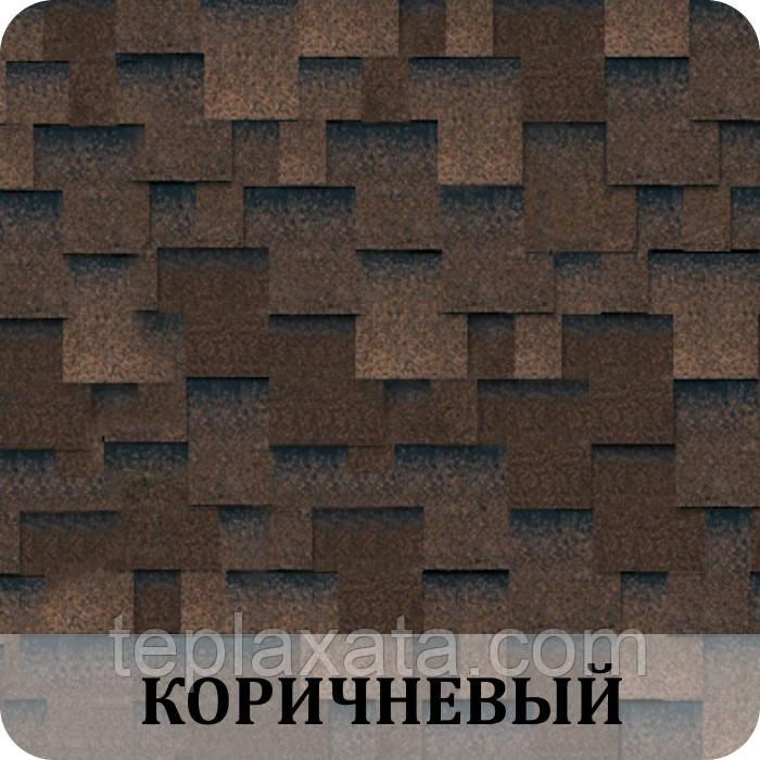 Черепица SHINGLAS Классик Аккорд Коричневый