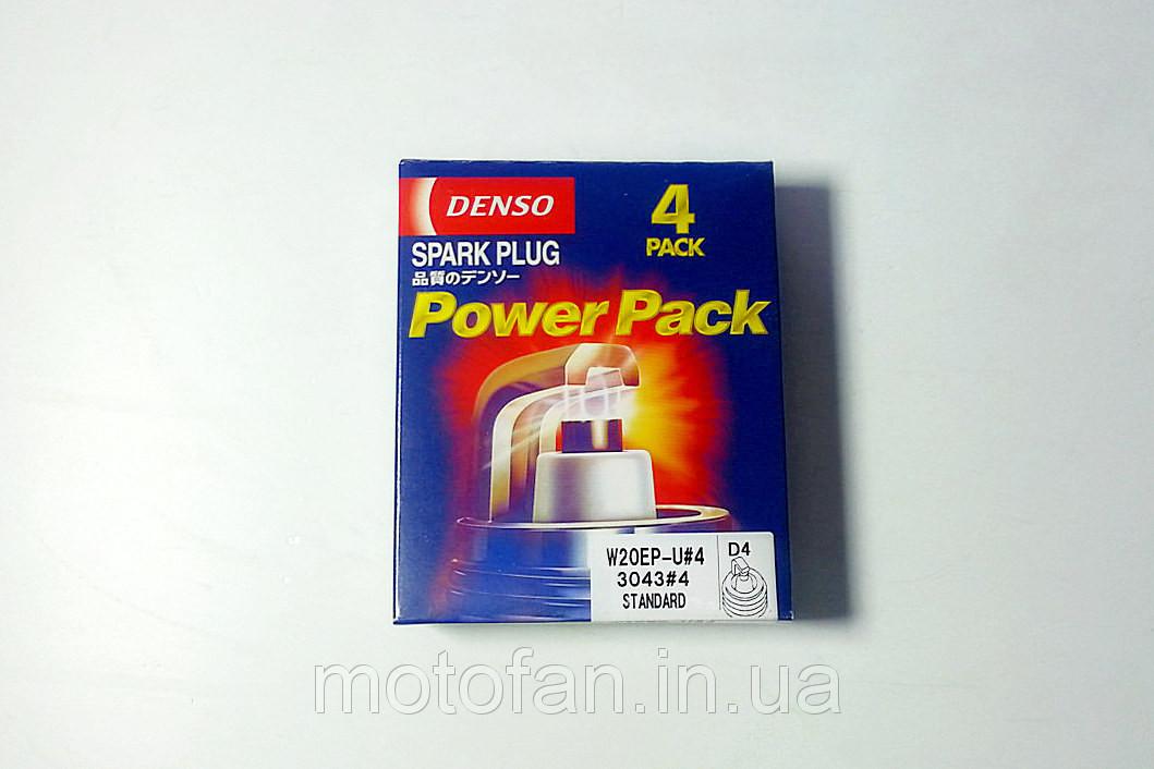 Свеча зажигания 2101-07 (DS W20EPU.4) DENSO D4 (к-т)