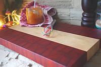Кухонная торцевая разделочная доска 50х35х4,5 см Є2700АКП