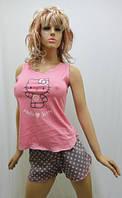 Пижама подростковая с шортами 247