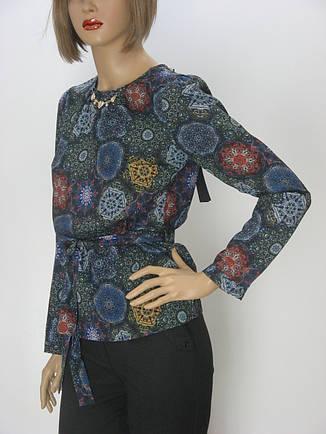Жіноча  блузка з поясом Edonna, фото 2