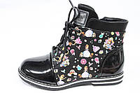 Ботинки для девочки новинка р27-32(р28-18СМ)