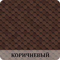 Черепица SHINGLAS (SBS) Ультра Самба Коричневый