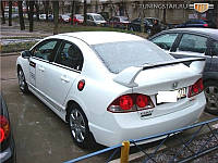 Спойлер на Honda Civic (2006-) Высокий Mugen-Style