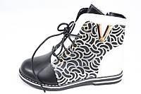 Стильные ботиночки для девочки новинка р29-18,5см