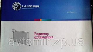 Радиатор охлаждения Ваз 21082 ЛУЗАР инжектор (алюминиевый) (LRc 01082)