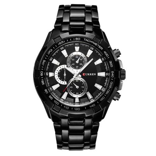 Мужские часы CURREN 8023 Black черные