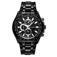 Мужские часы CURREN 8023 Black черные, фото 1
