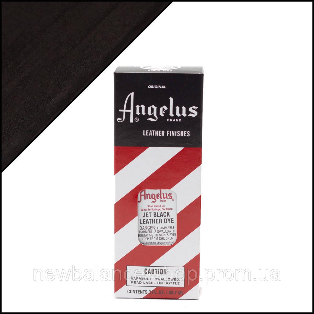 419761faab2c Краситель для кожи Angelus Leather Dye Jet Black (черная) - NEW BALANCE shop  в