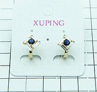 425. Xuping Jewelry- ежедневные серьги, позолоченная бижутерия. Серьги XP