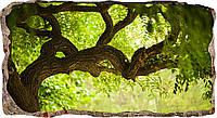 Светящиеся 3D обои Startonight Зеленое дерево