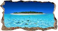 Светящиеся 3D обои Startonight Остров и прозрачная вода