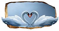 Светящиеся 3д Фото Обои Startonight Мир Животных Лебеди Декор стен Дизайн дома Интерьер