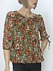 Жіноча шифонова блузка  Serfa