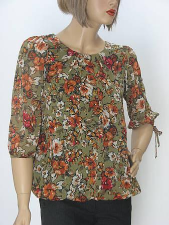 Жіноча шифонова блузка  Serfa, фото 2