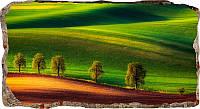 Светящиеся 3D обои Startonight Зеленый пейзаж