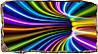 Светящиеся 3д Фото Обои Startonight Тунель Абстракция Декор стен Дизайн дома Интерьер