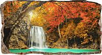 Светящиеся 3D обои Startonight Водопад в лесу