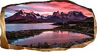 Светящиеся 3D обои Startonight Горное озеро