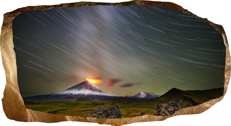 """Светящиеся 3D обои Startonight Извержение вулкана - ООО """"Made in Transilvania"""" в Румынии"""