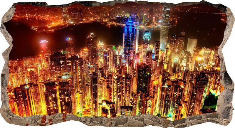"""Светящиеся 3D обои Startonight Небоскребы - ООО """"Made in Transilvania"""" в Румынии"""