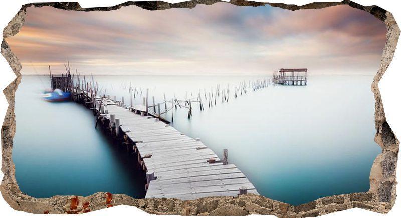 """Светящиеся 3D обои Startonight Деревянный мост - ООО """"Made in Transilvania"""" в Румынии"""