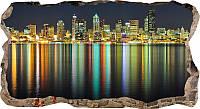 Светящиеся 3D обои Startonight Огни города