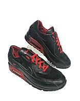 Кроссовки Nike №02 чёрно-красные