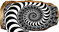 Светящиеся 3D обои Startonight Гипнотическая спираль