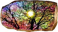 Светящиеся 3д Фото Обои Startonight Красочное Дерево Абстракция Декор стен Дизайн дома Интерьер
