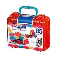 Конструктор игольчатый Battat Bristle Blocks 68074 Большой чемоданчик  85 дет