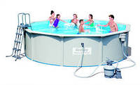 Сборной бассейн BestWay (56384) с фильтр-насосом 460х120 см.
