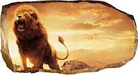 Светящиеся 3д Фото Обои Startonight Мир Животных Король Лев Декор стен Дизайн дома Интерьер