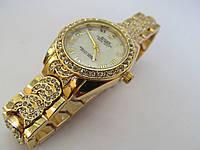 Женские часы ROLEX золотистые, Ролекс ( код: IBW043Y )