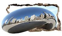 Светящиеся 3D обои Startonight Серебряный город